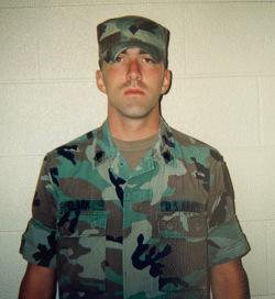Tim Clark during his time in the Army. Photo courtesy Tim Clark.