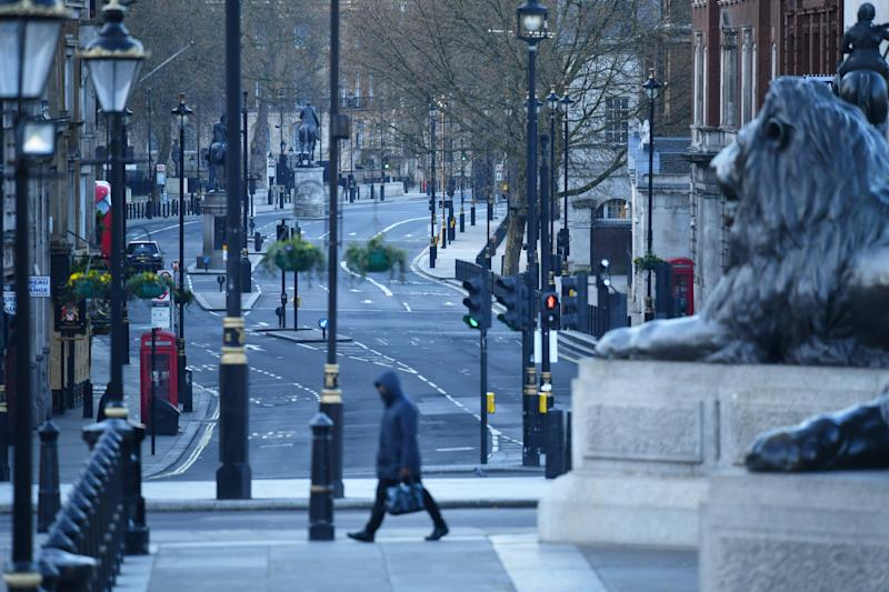 Whitehall, the home of the UK's civil service (REUTERS)
