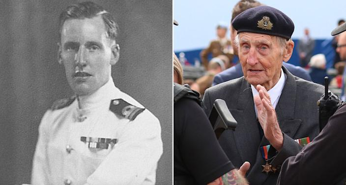 D-Day veteran Jim Booth attended the D-Day anniversary in Portsmouth before travelling to Normandy, nearly two years after he was nearly killed by an intruder (SWNS/PA)