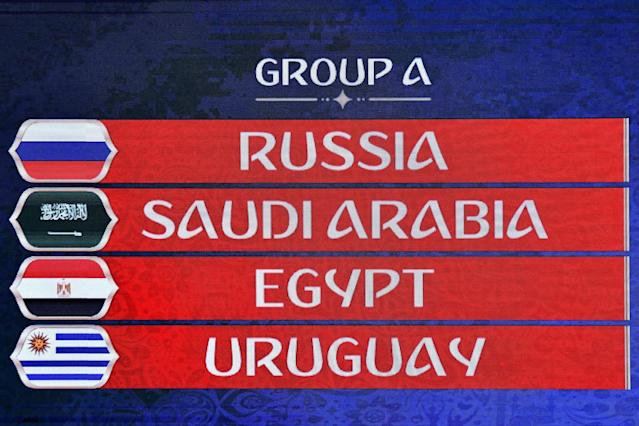 Fifa World Cup 2018 Group A guide: Russia, Saudi Arabia, Egypt, Uruguay - predictions, betting tips/odds, draws, fixtures, teams, squads, results, table, permutations, TV channel, schedule
