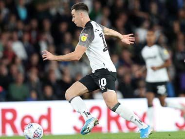 EFL Championship: Derby County midfielder Tom Lawrence apologises for role in drink-driving incident