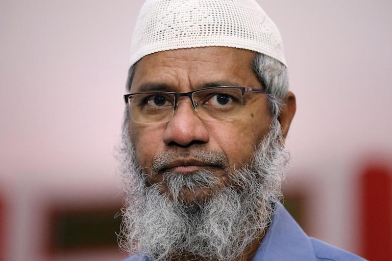 Dr Zakir Naik last visited India in 2016, where he is wanted for money laundering and inciting extremism through hate speeches.— Reuters pic