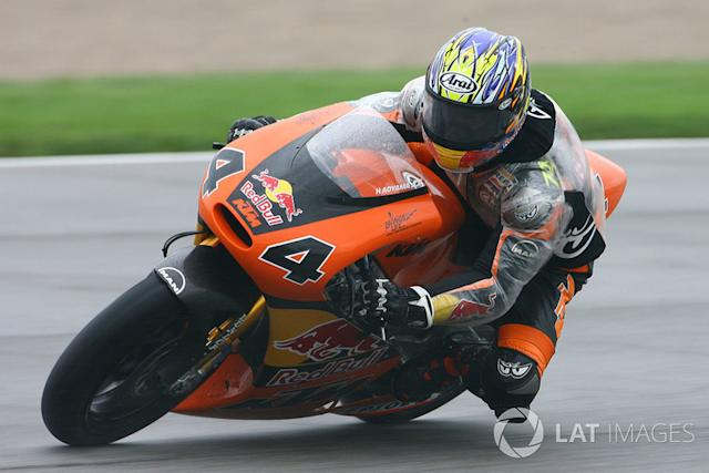 """Hiroshi Aoyama 4 victorias con KTM <span class=""""copyright"""">Gold and Goose / Motorsport Images</span>"""