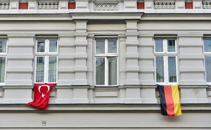 Ties between Turkey and Germany -- key NATO allies with strong historic ties -- have nosedived over Ankara's arrest of German citizens and Berlin's strong criticism of the Turkish crackdown following last year's failed coup (AFP Photo/John MACDOUGALL)