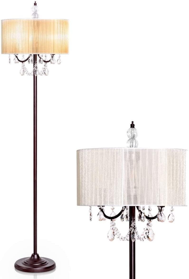 """<p>Add a little more light to your space with this <a href=""""https://www.popsugar.com/buy/Tangkula-Chandelier-Floor-Lamp-585468?p_name=Tangkula%20Chandelier%20Floor%20Lamp&retailer=amazon.com&pid=585468&price=86&evar1=casa%3Aus&evar9=46805816&evar98=https%3A%2F%2Fwww.popsugar.com%2Fphoto-gallery%2F46805816%2Fimage%2F46805826%2FStatement-Lamp&list1=shopping%2Camazon%2Cdecor%20inspiration%2Cshopping%20guide&prop13=api&pdata=1"""" class=""""link rapid-noclick-resp"""" rel=""""nofollow noopener"""" target=""""_blank"""" data-ylk=""""slk:Tangkula Chandelier Floor Lamp"""">Tangkula Chandelier Floor Lamp</a> ($86).</p>"""