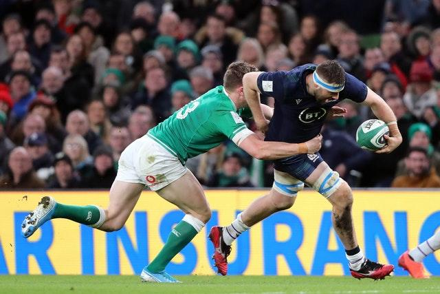 Haining was a surprise starter for Scotland in the Guinness Six Nations before the coronavirus pandemic