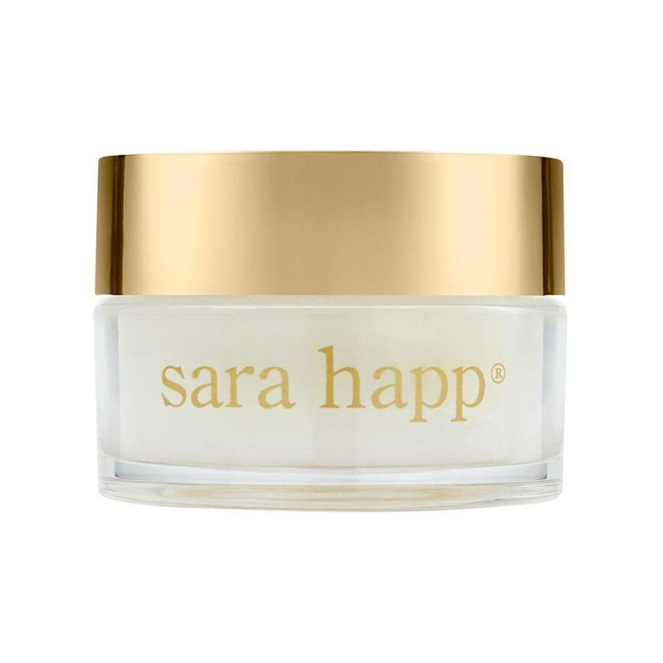 """<p><strong>Sara Happ</strong></p><p>amazon.com</p><p><strong>$34.00</strong></p><p><a href=""""https://www.amazon.com/dp/B07963294X?tag=syn-yahoo-20&ascsubtag=%5Bartid%7C10051.g.36317445%5Bsrc%7Cyahoo-us"""" rel=""""nofollow noopener"""" target=""""_blank"""" data-ylk=""""slk:Shop Now"""" class=""""link rapid-noclick-resp"""">Shop Now</a></p><p>I swear by Sara Happ's Dream Slip overnight lip mask's ability to hydrate and plump lips. For the sister, friend, or co-worker who applies chapstick religiously, gift a jar of this to completely transform their lip regiment. </p>"""