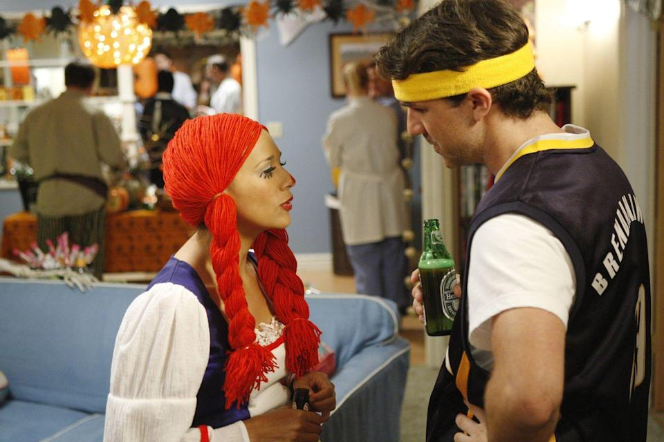"""<p><em>Parks and Rec</em> had more than one stand-out Halloween episode in its run, but we're especially fond for the season 2 romp, """"Greg Pikitis."""" While Ann tries (with mixed success) to throw a spectacular Halloween party, Leslie and Andy team up with her boyfriend Dave to take down teen ne'er-do-well Greg Pikitis. Every year Pikitis vandalizes the town's mayoral statue, but this year Leslie is determined to catch him in the act. Pkitis, meanwhile, has his own plans to keep Leslie on her toes—there's a reason she refers to him as her arch-nemesis, after all. </p><p><a class=""""link rapid-noclick-resp"""" href=""""https://www.netflix.com/title/70143842"""" rel=""""nofollow noopener"""" target=""""_blank"""" data-ylk=""""slk:Watch now"""">Watch now</a></p>"""