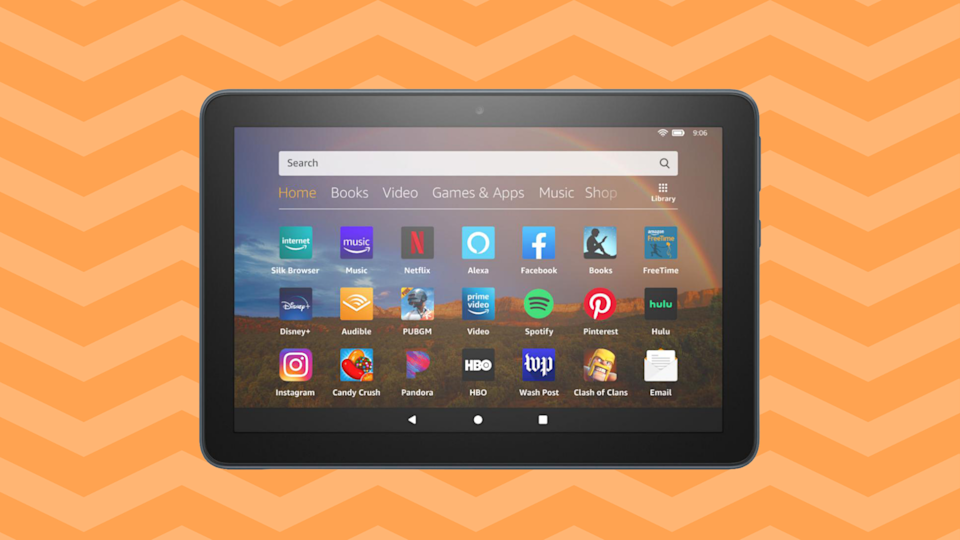Save nearly 30 percent on the Fire HD 8 tablet. (Photo: Amazon)