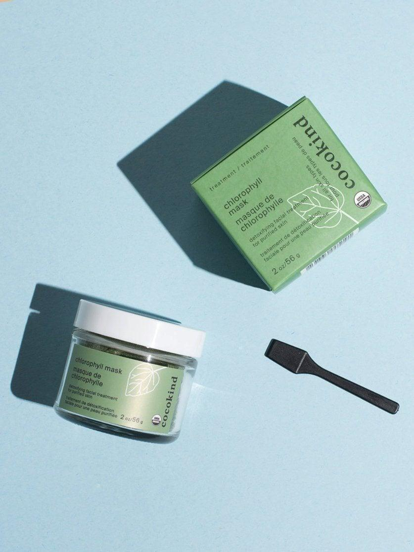 <p>The <span>Cocokind Chlorophyll Mask</span> ($19) isn't your typical face mask. It comes as a green powder that you add water to before applying to boost your complexion and brighten up an uneven skin tone.</p>