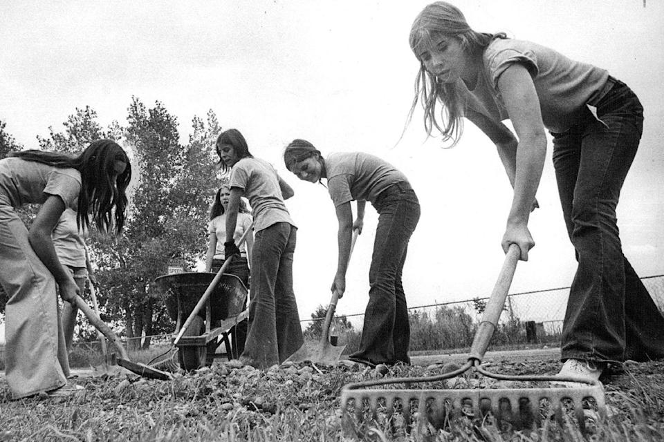 <p>A group of teenage girls spent the summer of '73 keeping a local park clean and well-groomed as rangers.</p>