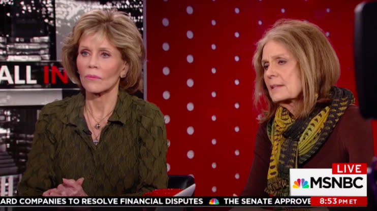 Jane Fonda: People Are Listening Now Because Weinstein Victims Are 'Famous And White'