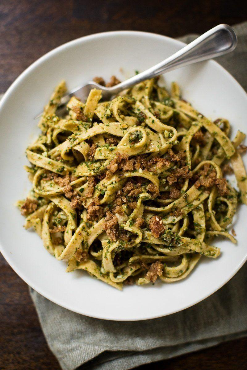 "<strong>Get the <a href=""http://naturallyella.com/olive-pesto-pasta/"">Olive Pesto Pasta recipe</a>&nbsp;from Naturally Ella</strong>"