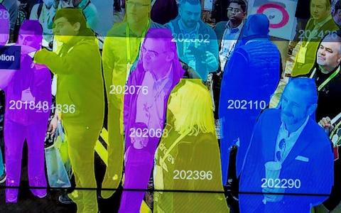 Artificial intelligence and facial recognition - Credit: David Mcnew/Getty