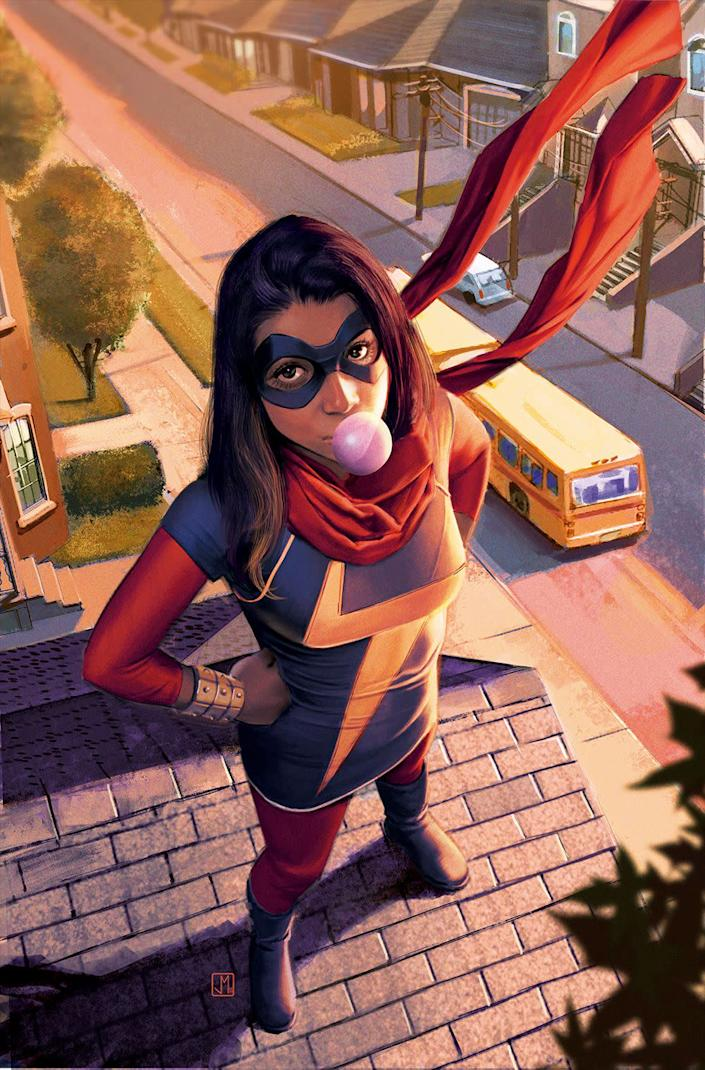 Kamala Khan as Ms. Marvel
