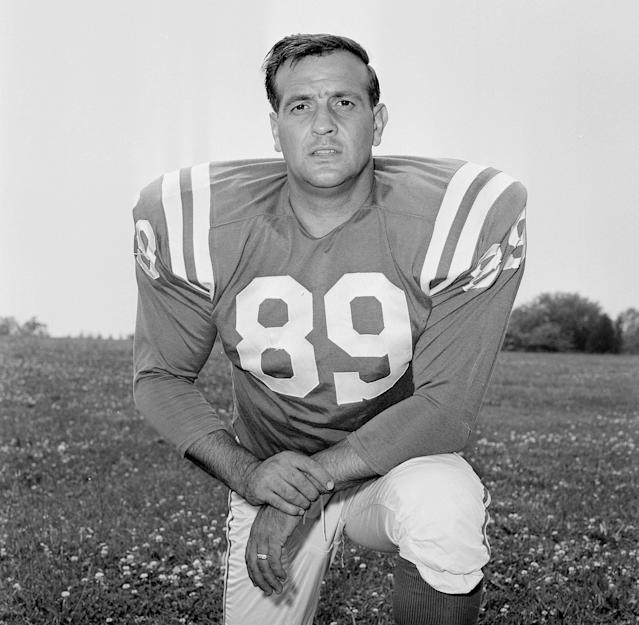 Hall of Famer Gino Marchetti died at age 93. (AP)