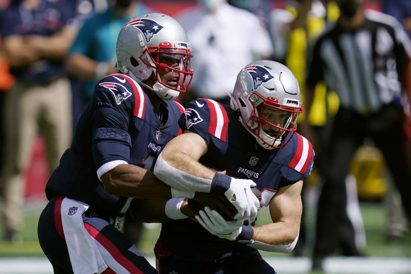 The Patriots' rushing attack isn't as nearly good as it seems