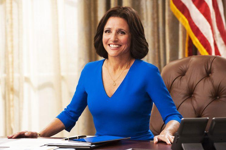 Julia Louis-Dreyfus in 'Veep' (HBO)