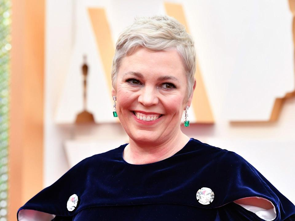 Olivia Colman at the 2020 Oscars (Amy Sussman/Getty Images)