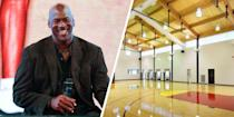 <p>Michael Jordan's Highland Park estate is recognized as the most expensive home in Illinois, so it's no surprise that the property would include a full-sized basketball court that doesn't disappoint.</p>