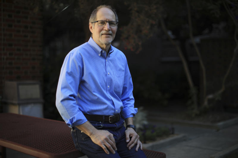 Dr. Neal Benowitz, a researcher who studies nicotine and vaping at the University of California, San Francisco, in San Francisco, Oct. 8, 2019. (Jim Wilson/The New York Times)
