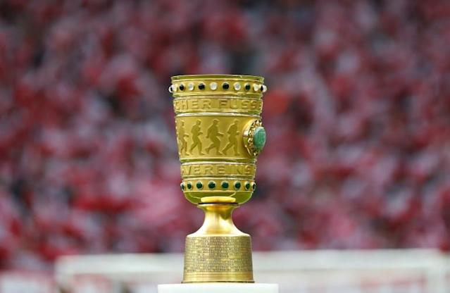 (Minnows Saarbruecken, who host Bayer Leverkusen on Tuesday, are the first fourth-tier team to reach the semi-finals of the German Cup. (AFP Photo/Odd ANDERSEN)