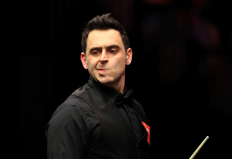 Barry Hearn wants Ronnie O'Sullivan to speak his mind at the Crucible - PA Wire/PA Images