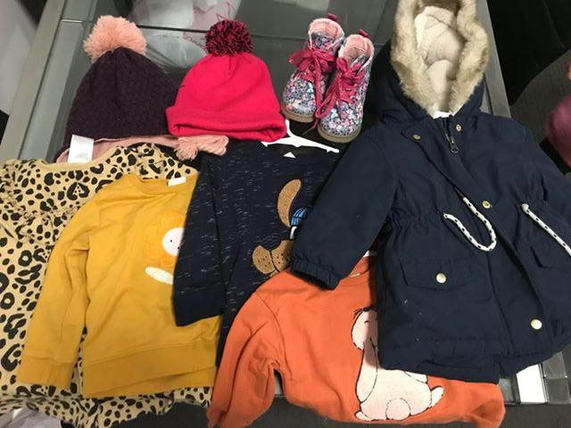 Image of toddler winter clothes from $550 Coronavirus supplement payment