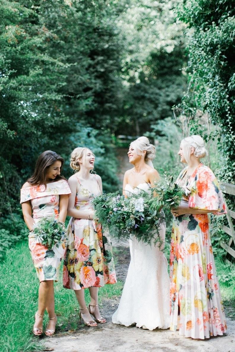 115c35744 8 Nail Polish and Bridesmaid Dress Color Combos You (and Your Girls!) Will  Love