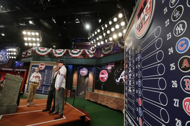 The MLB Draft features a few players who were born in the year 2000. (AP Photo/Frank Franklin II)