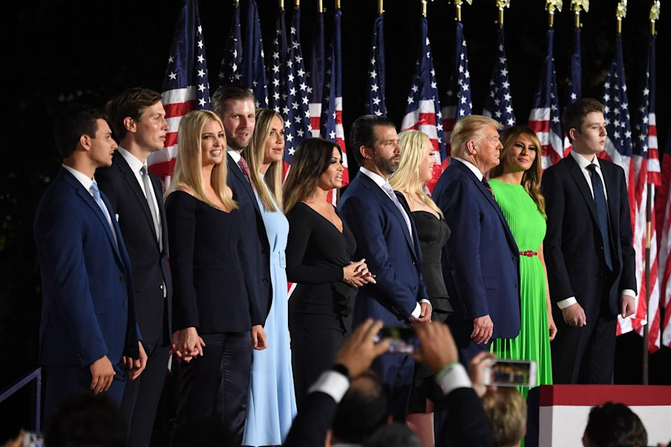 Trump family Republican Convention 2020