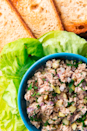 """<p>When a recipe is this good, it doesn't matter what your desk neighbors think.</p><p>Get the recipe from <a href=""""https://www.delish.com/cooking/recipe-ideas/a19637640/best-tuna-salad-recipe/"""" rel=""""nofollow noopener"""" target=""""_blank"""" data-ylk=""""slk:Delish"""" class=""""link rapid-noclick-resp"""">Delish</a>. </p>"""