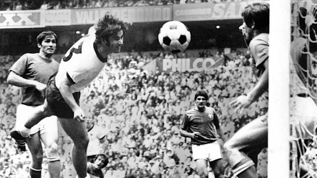 ONLY GERMANY Gerd Muller Germany World Cup 1970