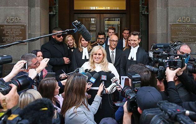 Rebel revealed how she got through the 'stress' of her trial. Source: Getty