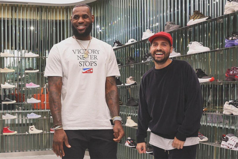 best service 07470 37133 LeBron James Names His Favorite Ronnie Fieg Design From Kith LA s  Long  Live the King  Line