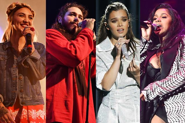 <p>Other prospects include Julia Michaels, Post Malone, Jon Pardi, Kane Brown, Cardi B, James Arthur, Brett Young, Luke Combs, Jordan Smith, Hailee Steinfeld, Old Dominion, Midland, Bebe Rexha, Playboi Carti, Marian Hill, and Zara Larsson.<br>(Photo: Getty Images) </p>