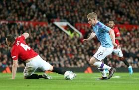 'De Bruyne should be jailed for that': Fans mock Phil Jones after poor defending against Man City