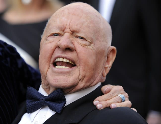 Late actor Mickey Rooney was a voice against elder abuse