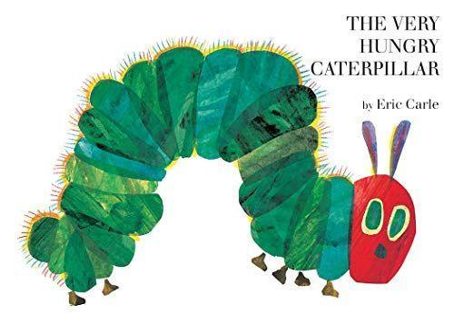 """<p><strong>World of Eric Carle</strong></p><p>amazon.com</p><p><strong>$5.06</strong></p><p><a href=""""https://www.amazon.com/dp/0399226907?tag=syn-yahoo-20&ascsubtag=%5Bartid%7C10050.g.33971100%5Bsrc%7Cyahoo-us"""" rel=""""nofollow noopener"""" target=""""_blank"""" data-ylk=""""slk:Shop Now"""" class=""""link rapid-noclick-resp"""">Shop Now</a></p><p><strong>Ages:</strong> all</p><p>An instantly recognizable illustration graces the cover of this hugely best-selling classic (a copy is sold every 30 seconds!). Originally published in 1994, <em>The Very Hungry Caterpillar</em> is a voracious exploration across the pages (and diet) of one starving caterpillar and his journey to become a beautiful butterfly.</p>"""