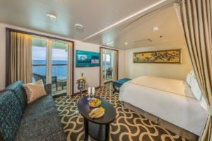 The palace suite cabin. Photo: Dream Cruises