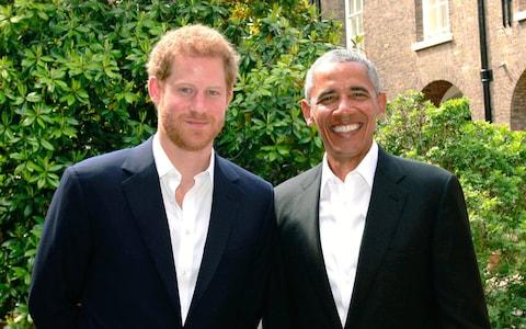 Close friends. The pair following their meeting at Kensington Palace - Credit: Kensington Palace via Getty Images
