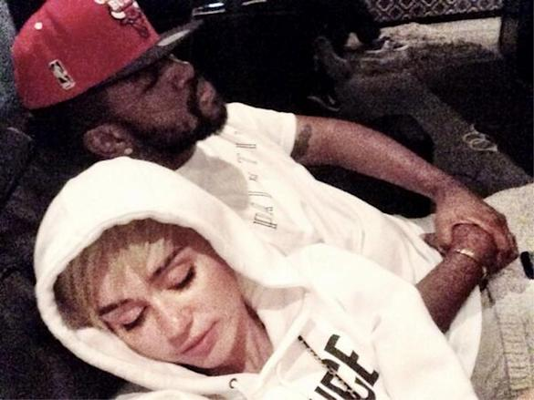 Miley Cyrus Puts 'Finishing Touches' To 'Bangerz' Album After Previewing French Montana Collaboration