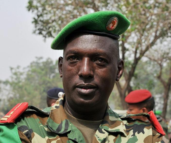 Burundi General Athanase Kararuza led the African Union-led mission to the Central African Republic in 2014 (AFP Photo/)
