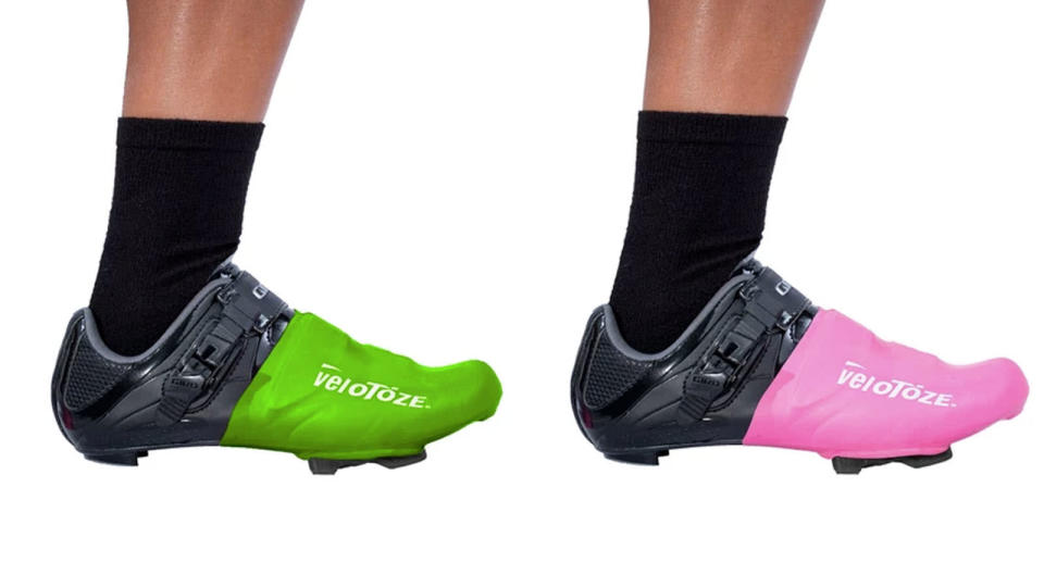 Best cycling overshoes: VeloToze toe cover