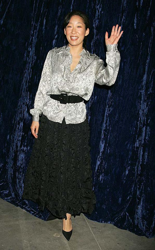 """Sharing the sixth spot with Padma Lakshmi is Sandra Oh. Her character on """"Grey's Anatomy"""" is smart and sexy. What single man wouldn't want to date her? Jeffrey Mayer/<a href=""""http://www.wireimage.com"""" target=""""new"""">WireImage.com</a> - February 6, 2007"""