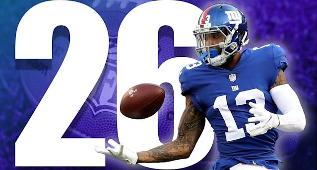 <p>Saquon Barkley, a healthy Odell Beckham and new coach Pat Shurmur were supposed to fix NY's offense, but that hasn't happened yet. (Odell Beckham Jr.) </p>