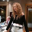 """<p>The fashion icon and legendary singer, Celine Dion, swapped her usual haute couture wardrobe for a more casual 90s vibe complete with cut off denim shorts and luscious natural curly hair. A far cry from Dion's go-to high fashion updos, her effortless caramel ringlets gave followers a peek into the singer's off-duty attire.</p><p><a href=""""https://www.instagram.com/p/CFzccD3Hyqo/"""" rel=""""nofollow noopener"""" target=""""_blank"""" data-ylk=""""slk:See the original post on Instagram"""" class=""""link rapid-noclick-resp"""">See the original post on Instagram</a></p>"""