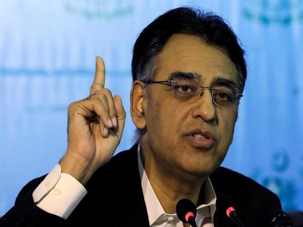 Asad Umar, Pakistan Federal Minister for Planning and Development (File photo)