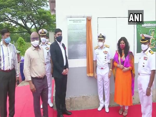 Inauguration of the Plastic Waste Handling Facility in Naval Base Kochi