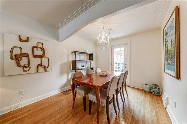"""<p><a rel=""""nofollow"""" href=""""https://www.zoocasa.com/toronto-on-real-estate/5531597-22-beresford-ave-toronto-on-m6s3a8-w4224950"""">22 Beresford Ave., Toronto, Ont.</a><br />The open concept living and dining rooms have a walk-out to the patio.<br />(Photo: Zoocasa) </p>"""